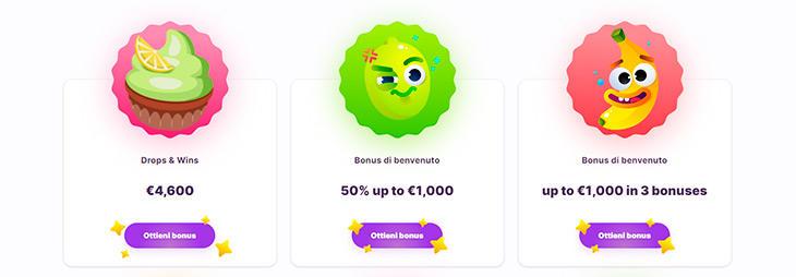 Bonus su Nomini Casino
