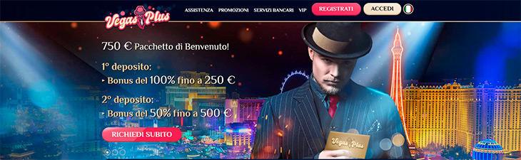 VegasPlus Casino bonus
