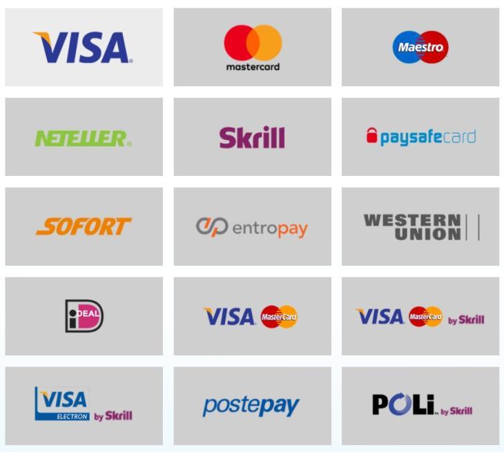 Opzioni bancarie e di deposito