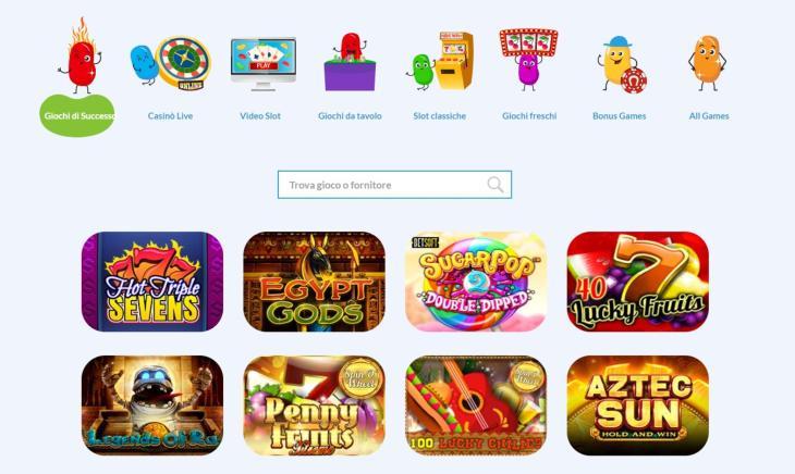 Varietà di slot machine
