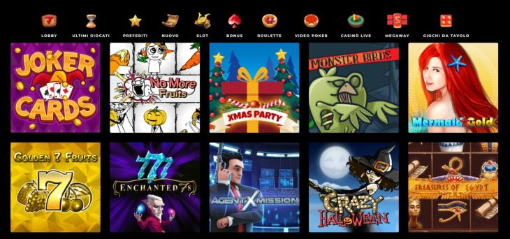 Spin Samurai Casino slots