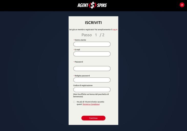 Come registrarsi sulla piattaforma